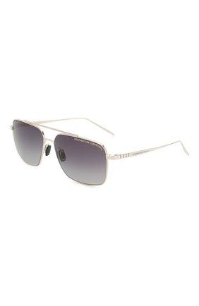 Мужские солнцезащитные очки PORSCHE DESIGN серебряного цвета, арт. 8679-C | Фото 1