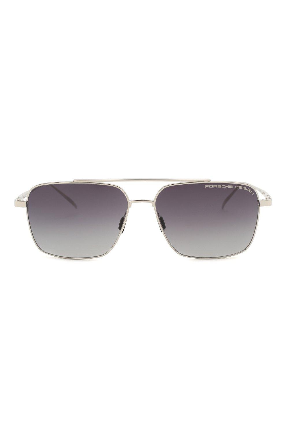 Мужские солнцезащитные очки PORSCHE DESIGN серебряного цвета, арт. 8679-C | Фото 3