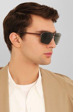 Мужские солнцезащитные очки PORSCHE DESIGN черного цвета, арт. 8681-B | Фото 2