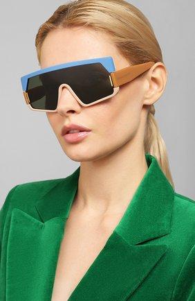 Мужские солнцезащитные очки KAREN WALKER разноцветного цвета, арт. V0RTICIST/1901861 | Фото 2