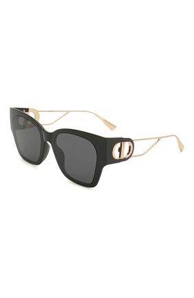 Женские солнцезащитные очки DIOR черного цвета, арт. 30M0NTAIGNE1 807 2K | Фото 1