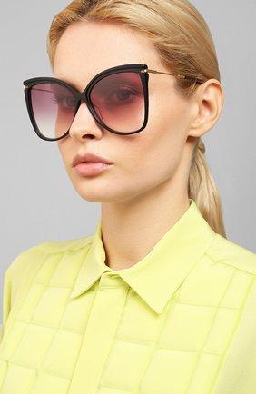 Мужские солнцезащитные очки MAX MARA черного цвета, арт. CLASSY XI/G 08A | Фото 2