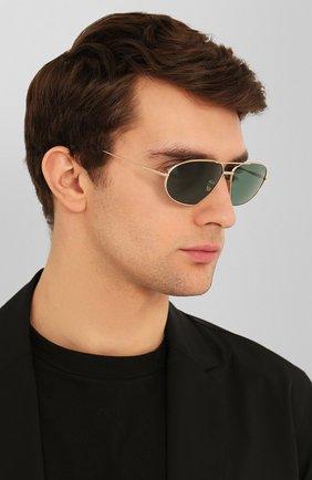 Мужские солнцезащитные очки TOM FORD темно-зеленого цвета, арт. TF771 28N | Фото 2