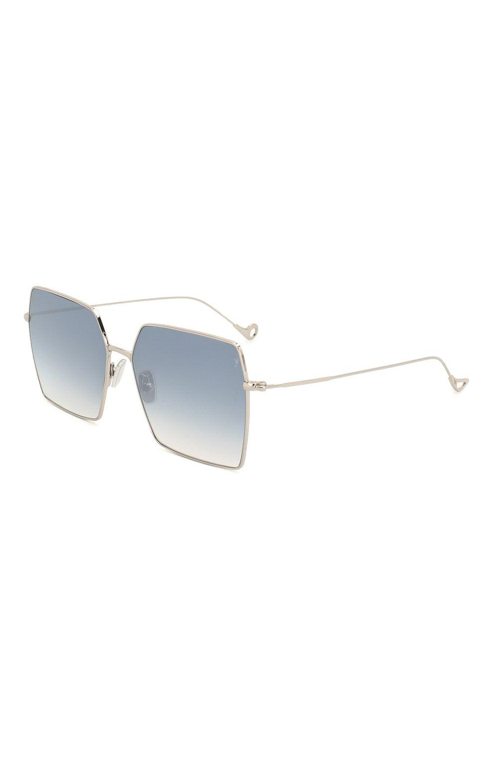 Женские солнцезащитные очки EYEPETIZER голубого цвета, арт. R0DINE 1-12F | Фото 1