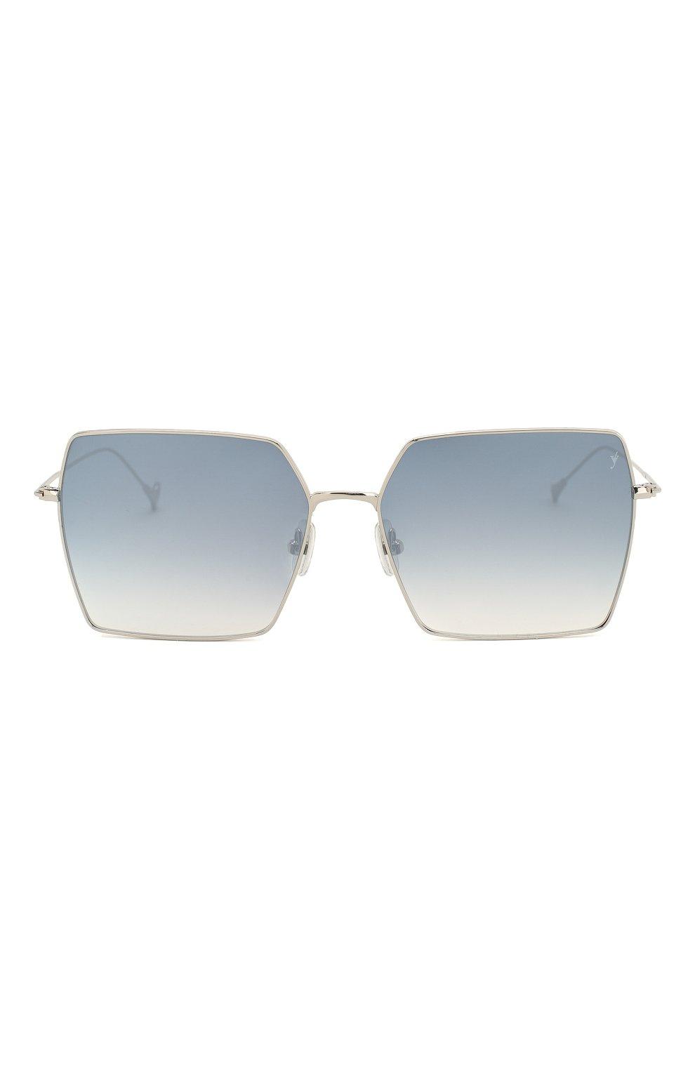 Женские солнцезащитные очки EYEPETIZER голубого цвета, арт. R0DINE 1-12F | Фото 3