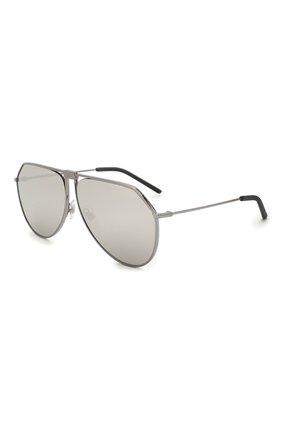 Женские солнцезащитные очки DOLCE & GABBANA серого цвета, арт. 2248-04/6G   Фото 1 (Тип очков: С/з)