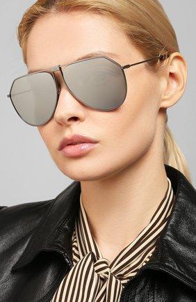 Женские солнцезащитные очки DOLCE & GABBANA серого цвета, арт. 2248-04/6G   Фото 2 (Тип очков: С/з)