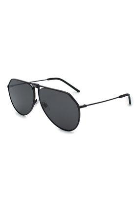 Женские солнцезащитные очки DOLCE & GABBANA черного цвета, арт. 2248-110687   Фото 1 (Тип очков: С/з; Очки форма: Авиаторы; Оптика Гендер: оптика-унисекс)