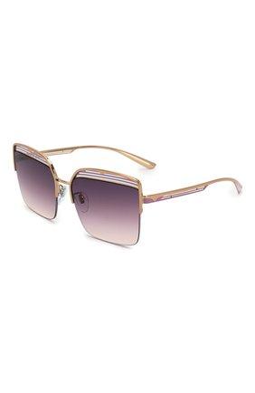 Мужские солнцезащитные очки BVLGARI фиолетового цвета, арт. 6126-2014U6 | Фото 1
