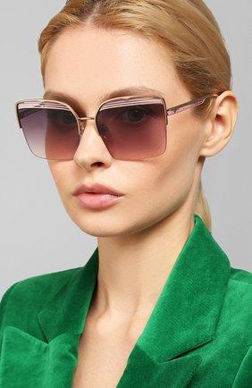 Мужские солнцезащитные очки BVLGARI фиолетового цвета, арт. 6126-2014U6 | Фото 2