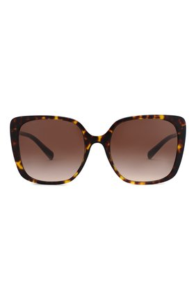 Женские солнцезащитные очки BVLGARI коричневого цвета, арт. 8225B-504/13 | Фото 3