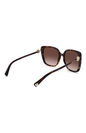 Женские солнцезащитные очки BVLGARI коричневого цвета, арт. 8225B-504/13 | Фото 4