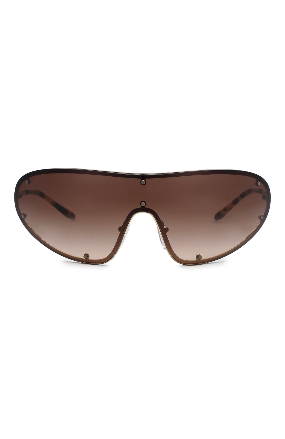 Женские солнцезащитные очки PRADA коричневого цвета, арт. 73VS-ZVN6S1 | Фото 3