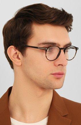Мужские оправа TOM FORD коричневого цвета, арт. TF5294 052 | Фото 2