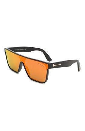 Мужские солнцезащитные очки TOM FORD оранжевого цвета, арт. TF709 | Фото 1