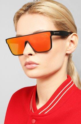 Мужские солнцезащитные очки TOM FORD оранжевого цвета, арт. TF709 | Фото 2
