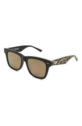 Мужские солнцезащитные очки BAPE серого цвета, арт. 1F70182047 | Фото 1