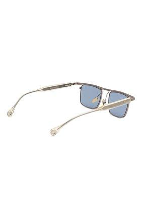 Мужские солнцезащитные очки ÉTUDES серебряного цвета, арт. KARMA SILVER CH WITH CHAIN   Фото 5