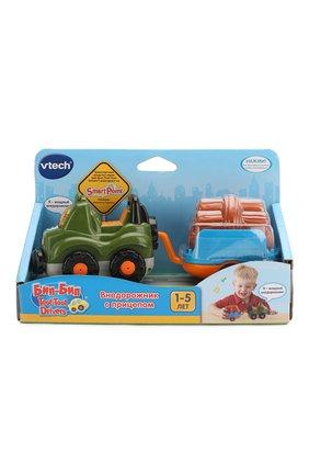 Детского игрушка внедорожник с прицепом VTECH разноцветного цвета, арт. 80-164626 | Фото 1