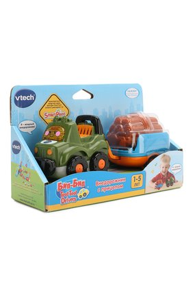 Детского игрушка внедорожник с прицепом VTECH разноцветного цвета, арт. 80-164626 | Фото 2