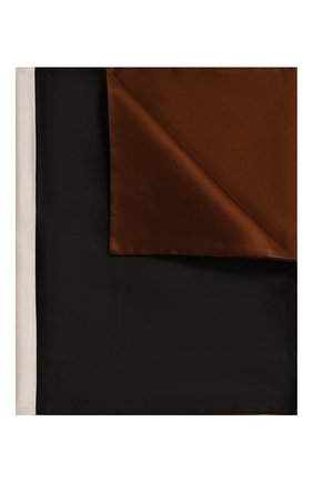 Мужского декоративная наволочка FRETTE темно-коричневого цвета, арт. FR6597 E0740 030C | Фото 1