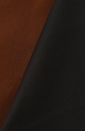 Мужского декоративная наволочка FRETTE темно-коричневого цвета, арт. FR6597 E0740 030C | Фото 2