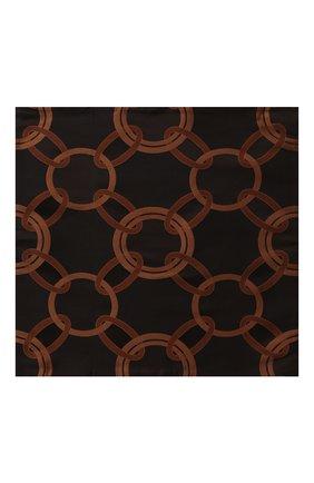 Мужского декоративная наволочка FRETTE черного цвета, арт. FR6582 F6238 050D | Фото 1