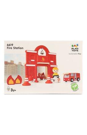 Детского игрушка пожарная станция PLAN TOYS разноцветного цвета, арт. 6619 | Фото 1