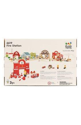 Детского игрушка пожарная станция PLAN TOYS разноцветного цвета, арт. 6619 | Фото 2
