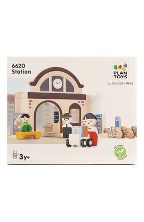 Детского игрушка вокзал PLAN TOYS разноцветного цвета, арт. 6620 | Фото 1