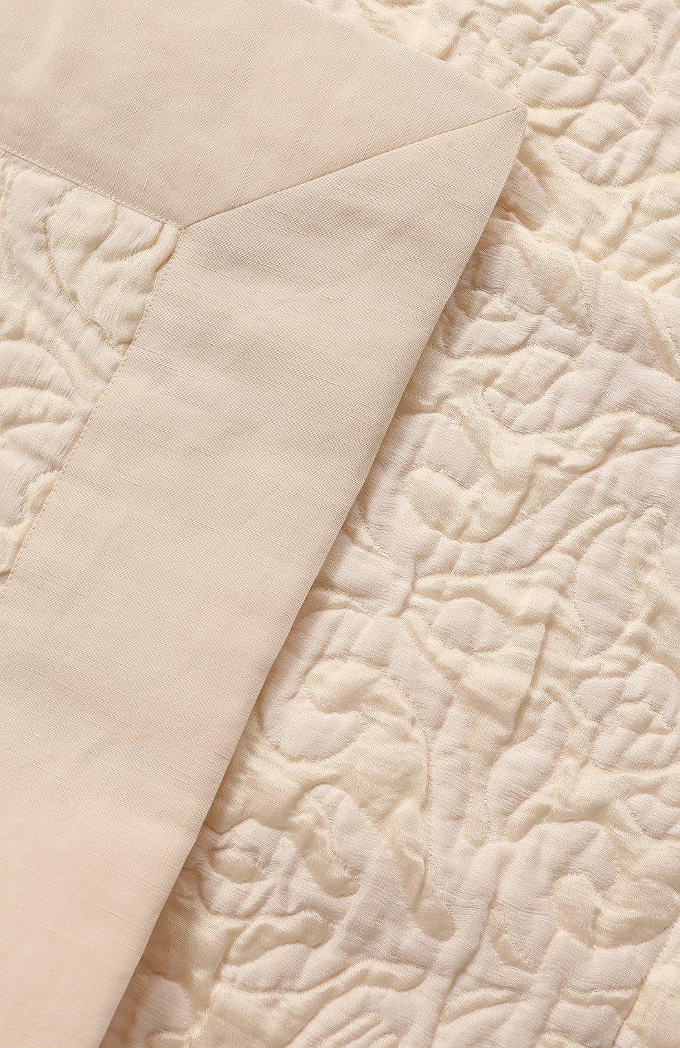Мужского декоративная наволочка FRETTE бежевого цвета, арт. FR4351 E0747 050D | Фото 2