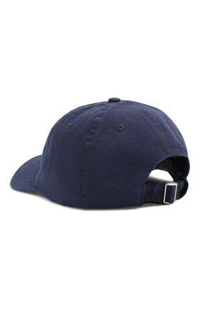 Мужской хлопковая бейсболка CASABLANCA темно-синего цвета, арт. AC20-HAT-002 CASA 0CEAN RES0RT CAP   Фото 3