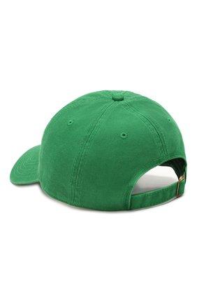 Мужской хлопковая бейсболка CASABLANCA зеленого цвета, арт. AC20-HAT-002 CASA H0TEL CAP | Фото 2