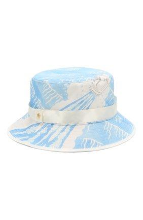 Мужская хлопковая панама CASABLANCA голубого цвета, арт. AC20-HAT-001 SILLAGE BUCKET HAT | Фото 1