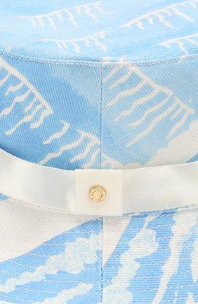 Мужская хлопковая панама CASABLANCA голубого цвета, арт. AC20-HAT-001 SILLAGE BUCKET HAT | Фото 3