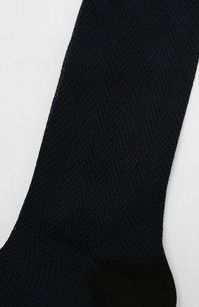 Мужские хлопковые носки TOM FORD темно-синего цвета, арт. BUCC3/TFS981 | Фото 2