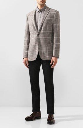 Мужская льняная рубашка VAN LAACK серого цвета, арт. LAD0N1-TFW/155967 | Фото 2