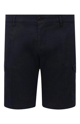 Мужские хлопковые шорты BERWICH темно-синего цвета, арт. BER_MUDA CARG0/CV0193X | Фото 1
