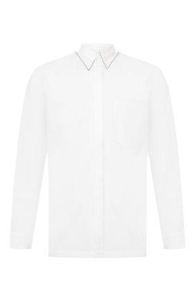 Мужская хлопковая рубашка MAISON MARGIELA белого цвета, арт. S30DL0469/S43001 | Фото 1