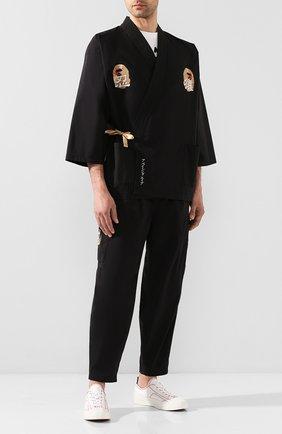 Мужской брюки-карго BAPE черного цвета, арт. 1G30152020 | Фото 2