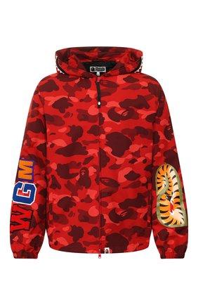 Мужская куртка BAPE красного цвета, арт. 1G30140007 | Фото 1