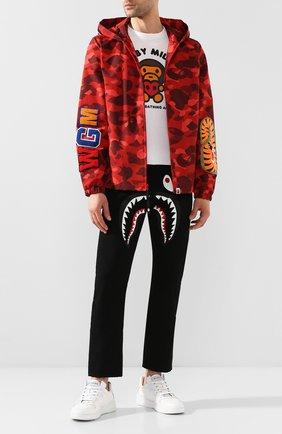 Мужская куртка BAPE красного цвета, арт. 1G30140007 | Фото 2