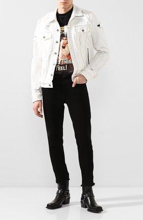 Мужской хлопковый свитшот DSQUARED2 черного цвета, арт. S71GU0375/S25042 | Фото 2