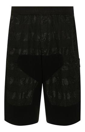 Мужские шорты STONE ISLAND SHADOW PROJECT черного цвета, арт. 7219L0201 | Фото 1