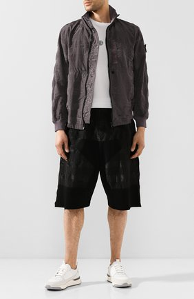 Мужские шорты STONE ISLAND SHADOW PROJECT черного цвета, арт. 7219L0201 | Фото 2