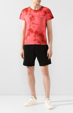 Мужская хлопковая футболка NASASEASONS красного цвета, арт. T040R/SANGUINE DYE | Фото 2
