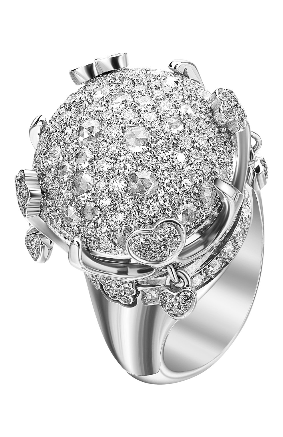 Женские кольцо PASQUALE BRUNI белого золота цвета, арт. 14643B | Фото 1