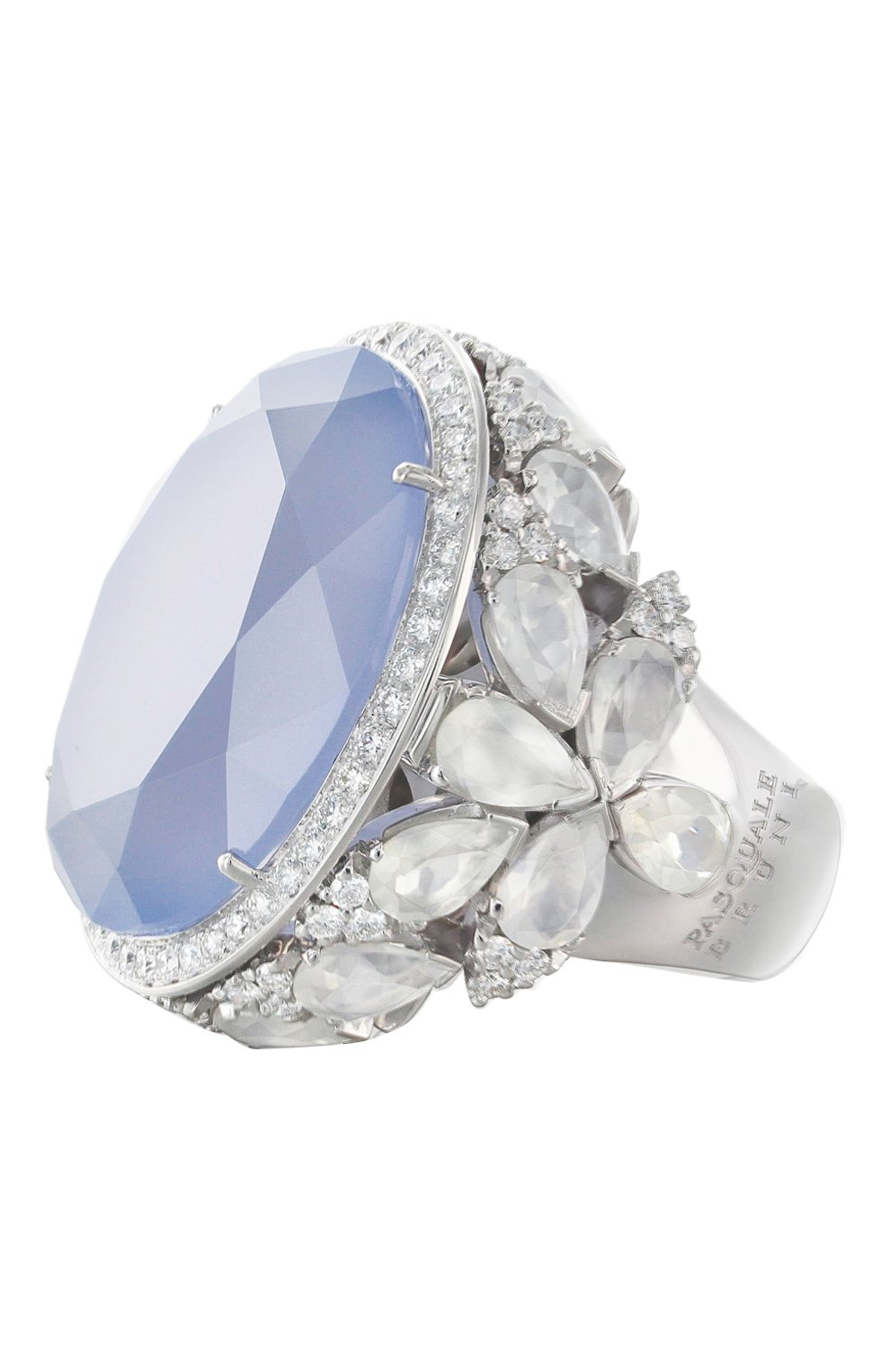 Женские кольцо PASQUALE BRUNI белого золота цвета, арт. 15181B | Фото 1