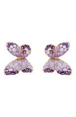 Женские серьги PASQUALE BRUNI бесцветного цвета, арт. 15446R | Фото 1 (Материал сплава: Розовое золото; Драгоценные камни: Бриллианты)
