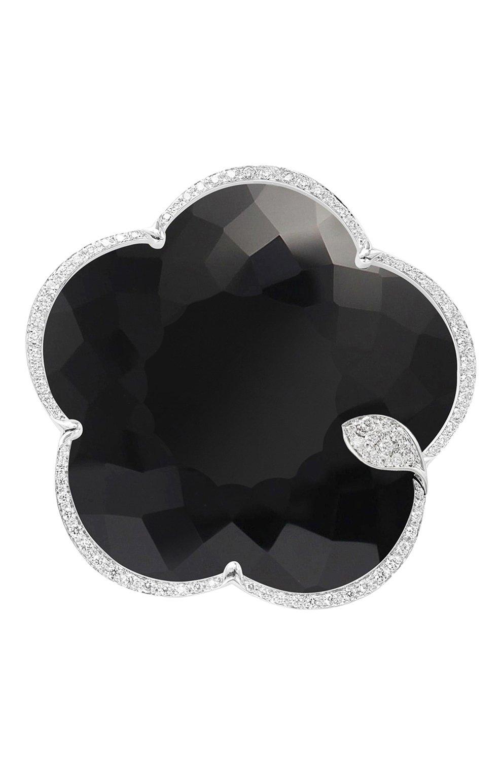 Женские брошь PASQUALE BRUNI бесцветного цвета, арт. 15759B | Фото 1 (Материал сплава: Белое золото; Драгоценные камни: Бриллианты)